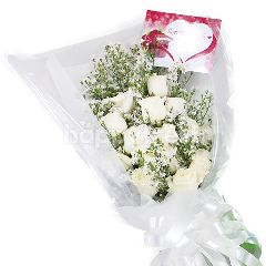 Citra Florist Bouquet Pure White