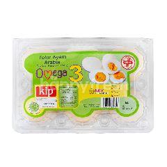Kip Telur Ayam Arab dengan Omega 3