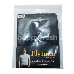 Flyman Kaus Olahraga Pria Ukuran XL Model 3061