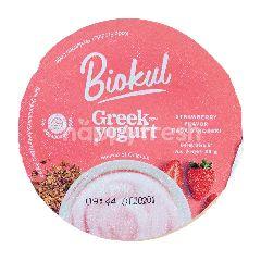 BioKul Greek Yogurt Rasa Stroberi