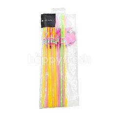 Minnamarinna Flamingo Straws