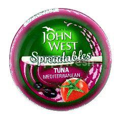 John West Spreadables Tuna Mediterranean