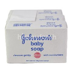 Johnson's Baby Bar Soap Cleanses Gently