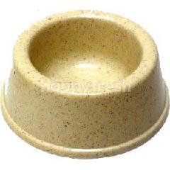 Trustie Pet Bowl Plastic (Ivory)