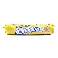 Oreo Golden Vanilla Flavour Sandwich Biscuit