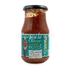 Jamie Oliver Saus Pasta Tomat dan Ricotta