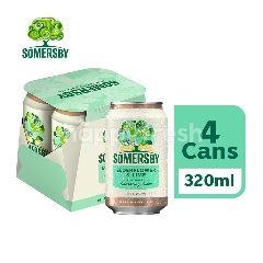 Somersby Elderflower Lime Cider Can (320ml x 4)