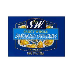 S&W Smoked Oysters