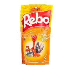 Rebo Kuaci Biji Bunga Matahari Rasa Karamel