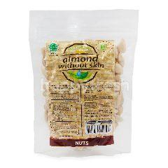 Trio Natural Kacang Almond Tanpa Kulit