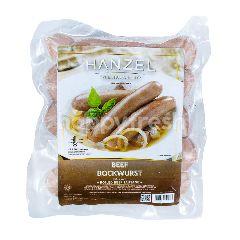 Hanzel Sosis Sapi Bockwurst