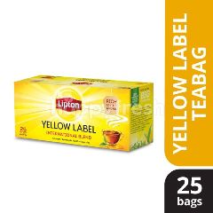 Lipton Yellow Label Black Tea (25 Tea Bag)