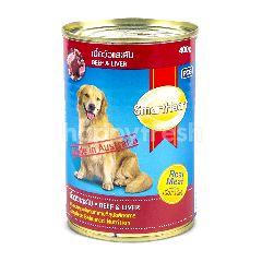 Smartheart Makanan Anjing Rasa Daging Sapi & Hati