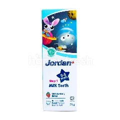 Jordan Pasta Gigi Gigi Susu Tahap 1