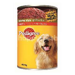 Pedigree Can Dog Wet Food Adult Beef 400G Dog Food