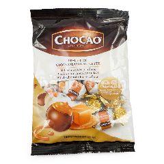 Chocao Permen Praline Cokelat Susu Krim Karamel