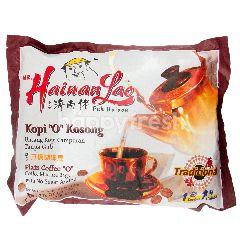 "Mr. Hainan Lao Plain Coffee ""O"" (20 Sachets x 10G)"