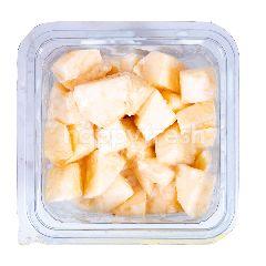 Apel Potong dengan Yogurt