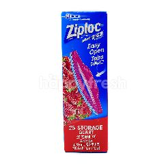 Ziploc 25 Storage Quart