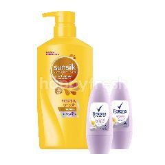 Sunsilk Shampo dan Rexona Deodoran Paket