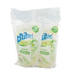 ซันไลต์ เนเจอร์ น้ำยาล้างจาน กลิ่นเกลือแร่ธรรมชาติ และสารสกัดว่านหางจระเข้ ชนิดเติม 750 มล. (แพ็ค 2)