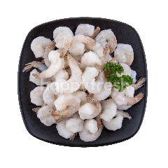 Food Diary Fz Raw Peeled Deveined Tail On White Shrimp 1 kg