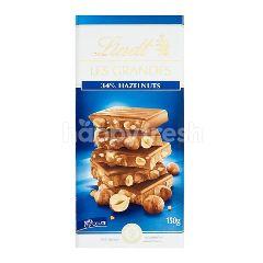 Lindt Les Grandes 34% Hazelnuts Chocolate