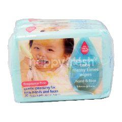 Johnson & Johnson Johnsons Baby Messy Times Wipes