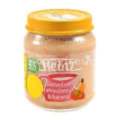 Heinz Strawberry & Banana Custard