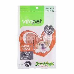 VITAPET Jerhigh Chicken Sticks For Dogs