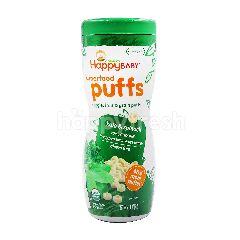 Organics Happy Baby Superfood Puffs Veggie, Fruit & Grain Puffs (Kale & Spinach)