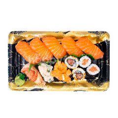 Aeon Set Sushi Salmon