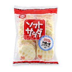 Kamedaseika Soft Sarada Rice Crackers