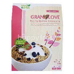 Love Earth Healthy Quinoa Cranberry Granola