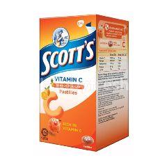 Scott's Vitamin C Pastilles Orange (50 Pieces)