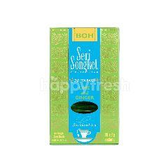 Boh Seri Songket Collection Lime And Ginger Tea (25 's)