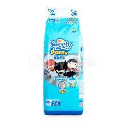 Sweety Silver Pants Boys Popok Celana Ukuran XXL