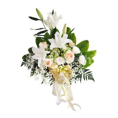 Emme Florist Roses, Baby's Breath, Lily, Hortensia