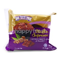 Gardenia Chunky Chocolate & Walnut Muffin