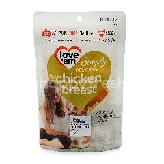 Love'em Chicken Breast Flavoured Dog Snack