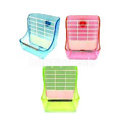 Trustie Rabbit Food & Hay Feeder (Assorted)