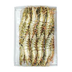 Food Diary Fz Raw Whole Tiger Shrimp Head On 13/15