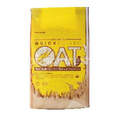 LOVE EARTH Organic Quick Rolled Oat Cereal