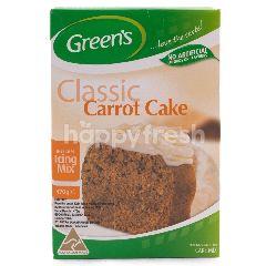 Green's Premiks untuk Keik Rasa Wortel dengan Icing