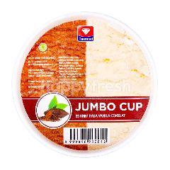 Diamond Es Krim Rasa Vanila & Cokelat Jumbo Cup