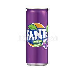 Fanta Grape Flavoured Carbonated Soft Drink 320ml