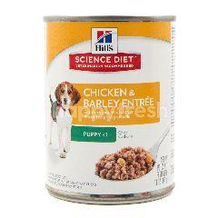 Science Diet Makanan Anak Anjing Formula Ayam dan Gandum Barley
