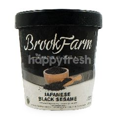 BrookFarm Es Krim Premium Rasa Wijen Hitam Jepang