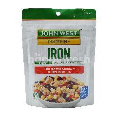 John West  Iron Tuna, Roasted Capsicum, Three Bean Mix