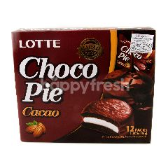 Lotte Choco Pie Chocolate Flavour